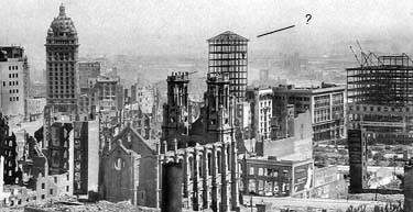 1906 san francisco earthquake and fire panorama photograph entry